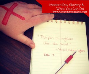 Modern Day Slavery & What You Can Do