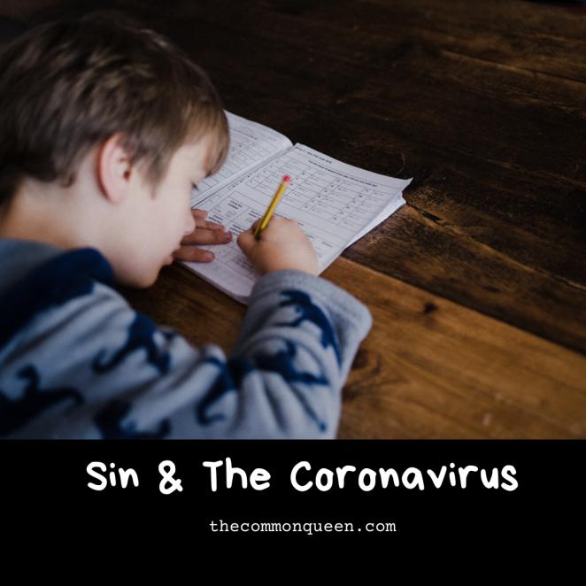 Sin & The Coronavirus